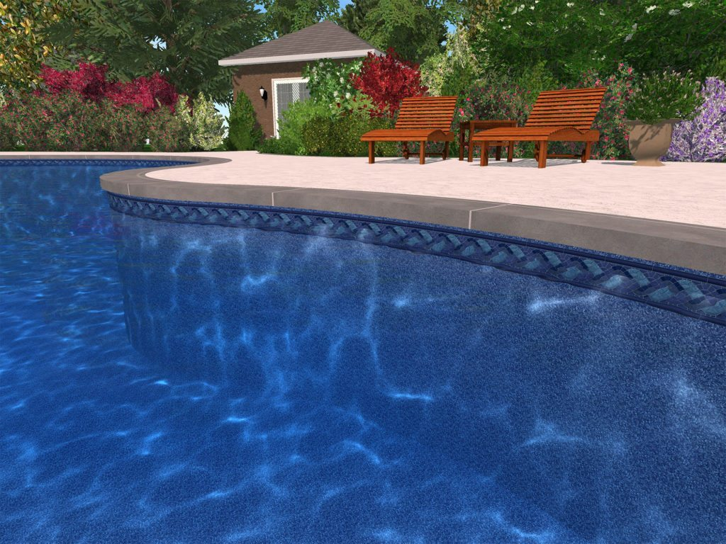 How long do vinyl pool liners last international pool spa for Most popular above ground pools