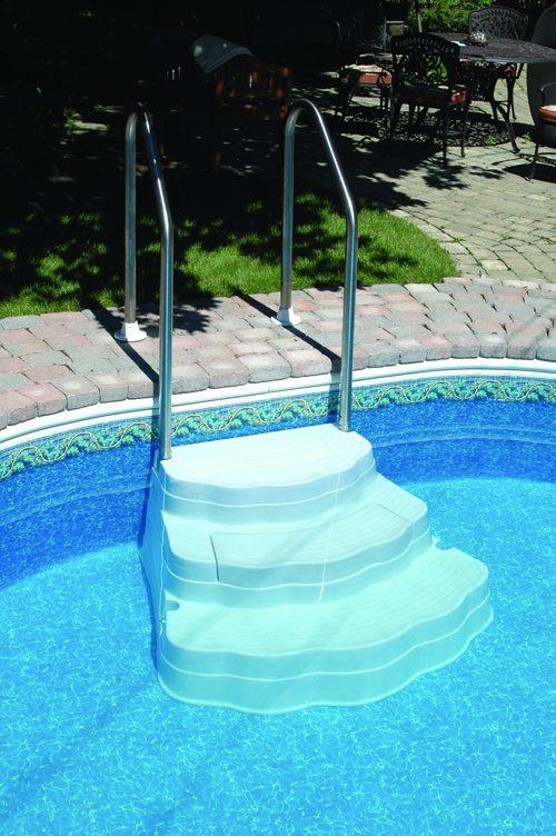Alum Anchor Ig Pool Ladder International Pool Amp Spa